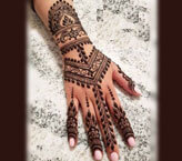 Beautiful Art Mehndi Pictures