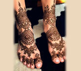 Beautiful Feet Mehndi Pictures