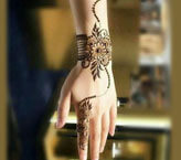Beautiful Flower Hand Mehndi Design
