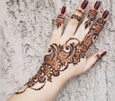 Beautiful Heena Mehndi Design