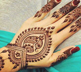 Extraordinary Back Hand Mehndi Design