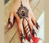 Eye Mehndi Design