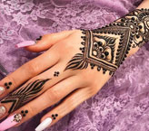 Faiza Simple Mehndi Design