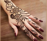 Flower Mehndi Design