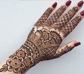 Full Mehndi Design