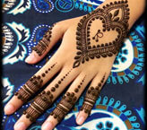 Heart Mehndi Pictures