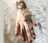 Heena Flower Mehndi Design