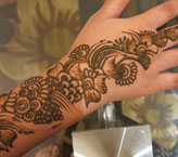Heena Simple Mehndi Design