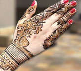 Iqra Beautiful Mehndi Design