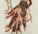 Latest Mehndi Design Simple For Eid