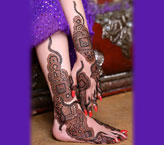 Mehndi Designs For Feet Hand