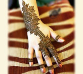 New Flower Mehndi Design