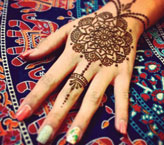 Nimra Simple Mehndi Design