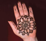 Reyshma Simple Mehndi Design