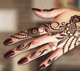 Rida Beautiful Mehndi Design