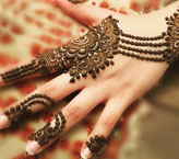 Rida Simple Mehndi Design