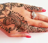 Rifo Simple Mehndi Design