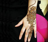 Rishma Simple Mehndi Design