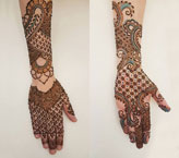 Sadf Simple Mehndi Design