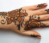 Sana Simple Mehndi Design