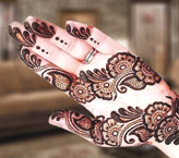 Sidra Beautiful Mehndi Design