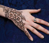 Simple Hand Mehndi Design Pakistani