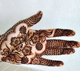 Sobia Simple Mehndi Design