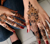 Two Hand Beautiful Mehndi Design
