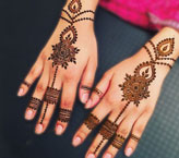 Two Hand Mehndi Design